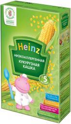 Каша Heinz Кукурузная низкоаллергенная с 5 мес, 200 г, б/мол.