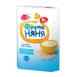Каша Фрутоняня Рисовая с 4 мес, 200 мл, мол.