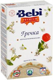 Каша Bebi Premium Гречка с 4 мес, 200 г, мол.