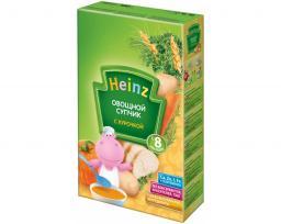 Каша Heinz Овощной супчик курочка с 8 мес, 160 г