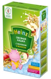 Каша Heinz Овсяная с яблоком с 5 мес, 250 г, мол.