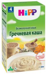 Каша Hipp Гречневая с 4 мес, 200 г, б/мол.