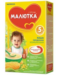 Каша Малютка Кукурузная с 5 мес., 200 г, б/мол.