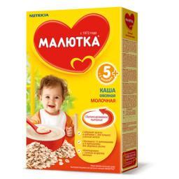Каша Малютка Овсяная с 5 мес, 250 г, мол.