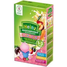 """Каша Heinz """"Любопышки"""" молочная (слива, морковь вишня, черная смородина) с 12 мес, 200 г"""
