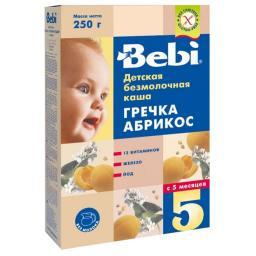 Каша Bebi Гречка-абрикос с 5 мес, 200 гр