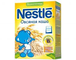 Каша Nestle Овсяная c бифидобактериями c 5 мес, 200 г, б/мол.