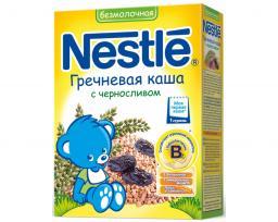 Каша Nestle Гречневая с черносливом и бифидобактериями c 4 мес, 200 г, б/мол.