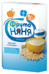 Каша Фрутоняня молочная овсяная, с 5 мес., 200 г
