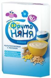 Каша Фрутоняня мультизлаковая с молоком, с 6 мес., 200 г