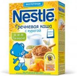 Каша Nestle Пшеничная с яблоком и земляникой, с 8 мес., 250 г