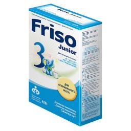 Молочная смесь Friso Junior 3 с 1 года, 400 г (картон)