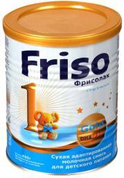Молочная смесь Friso Фрисолак 1 Gold с рождения, 400 г
