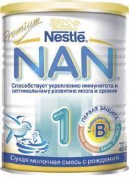 Молочная смесь Nestle NAN 1 Premium с рождения, 400 г