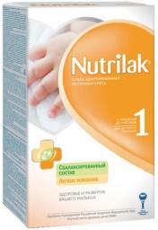 Молочная смесь Nutrilak 1 с рождения до 6 мес, 400 г
