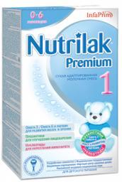 Молочная смесь Nutrilak Premium 1 с рождения, 400 г