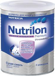 Молочная смесь Nutrilon Пепти Аллергия с пребиотиками с рождения, 400 г
