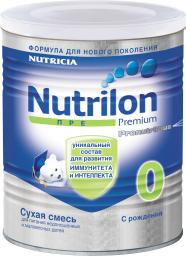 Молочная смесь Nutrilon Пре 0 с рождения, 400 г