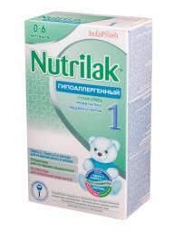 Молочная смесь Nutrilak Гипоаллергенный 1 с рождения, 350 г