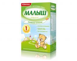 Молочная смесь Малыш Истринский 1 основное питание с рождения, 350 г