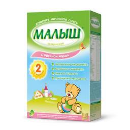 Молочная смесь Малыш Истринский 2 с овсяной мукой с 6 мес, 350 г