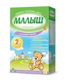 Молочная смесь Малыш Истринский 2 с рисовой мукой с 6 мес, 350 г
