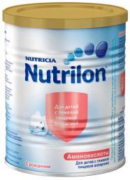 Молочная смесь Nutrilon Аминокислоты с рождения, 400 г