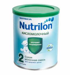 Молочная смесь Nutrilon Кисломолочный 2 с 6 мес, 400 г
