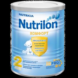 Молочная смесь Nutrilon Комфорт 2 с 6 мес., 400 г
