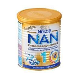 Молочная смесь Nestle NAN 1 Гипоаллергенный с рождения, 400 г