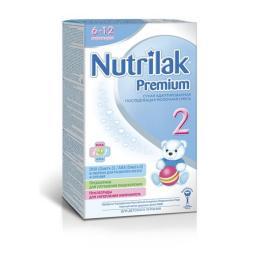 Молочная смесь Nutrilak Premium 2 с 6 мес. 400 гр.