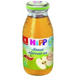 Сок Hipp Яблоко мягкий с 4 мес, 200 мл, б/сах.