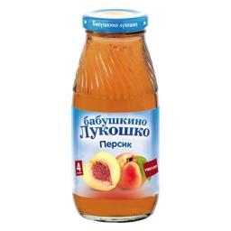 Нектар Бабушкино лукошко Персик с 4 мес, 200 мл