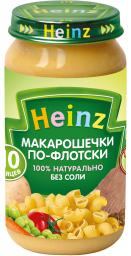 Пюре Heinz Макарошки по-флотски, с 10 мес, 190 г