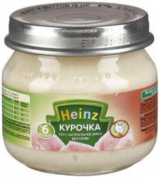 Пюре Heinz Курочка, с 6 мес, 80 г