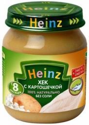 Пюре Heinz Хек с картошечкой, с 8 мес, 120 г