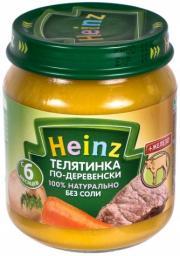 Пюре Heinz Телятинка по-деревенски, с 6 мес, 120 г