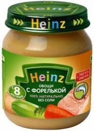 Пюре Heinz Овощи с форелькой, с 8 мес, 120 г