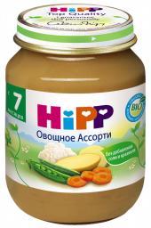 Пюре Hipp Овощное ассорти, с 7 мес, 125 г