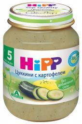 Пюре Hipp Цуккини с картофелем, с 5 мес, 125 г