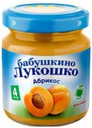 Пюре Бабушкино лукошко Абрикос, с 4 мес, 100 г