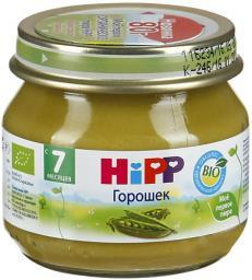 Пюре Hipp Горошек, с 7 мес, 80 г