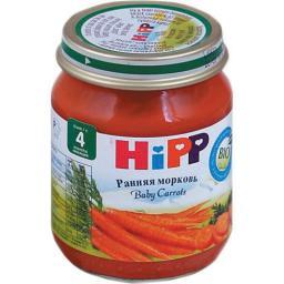 Пюре Hipp Морковь, с 4 мес, 80 г