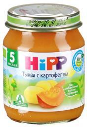 Пюре Hipp Тыква с картофелем, с 5 мес, 125 г