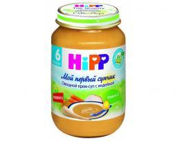 Пюре Hipp Овощной крем-суп с индейкой, с 6 мес, 190 г