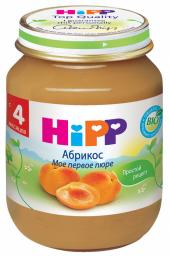 Пюре Hipp Абрикос, с 4 мес, 125 г