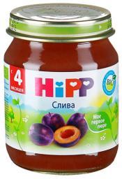 Пюре Hipp Слива, с 4 мес, 125 г