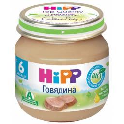 Пюре Hipp Говядина, с 6 мес, 80 г