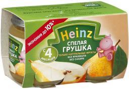 Пюре Heinz Спелая грушка, с 4 мес, 120 г, 2 шт