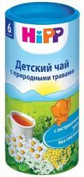 Чай Hipp Детский с природными травами с 6 мес, 200 г